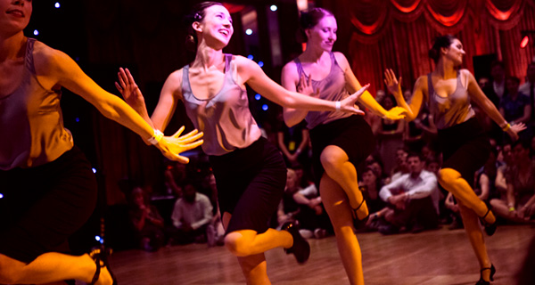 Dancers at ESDC 2013