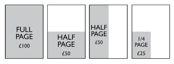 Ad Size Diagram