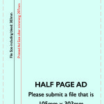 Half Page Ad Template (Tall)