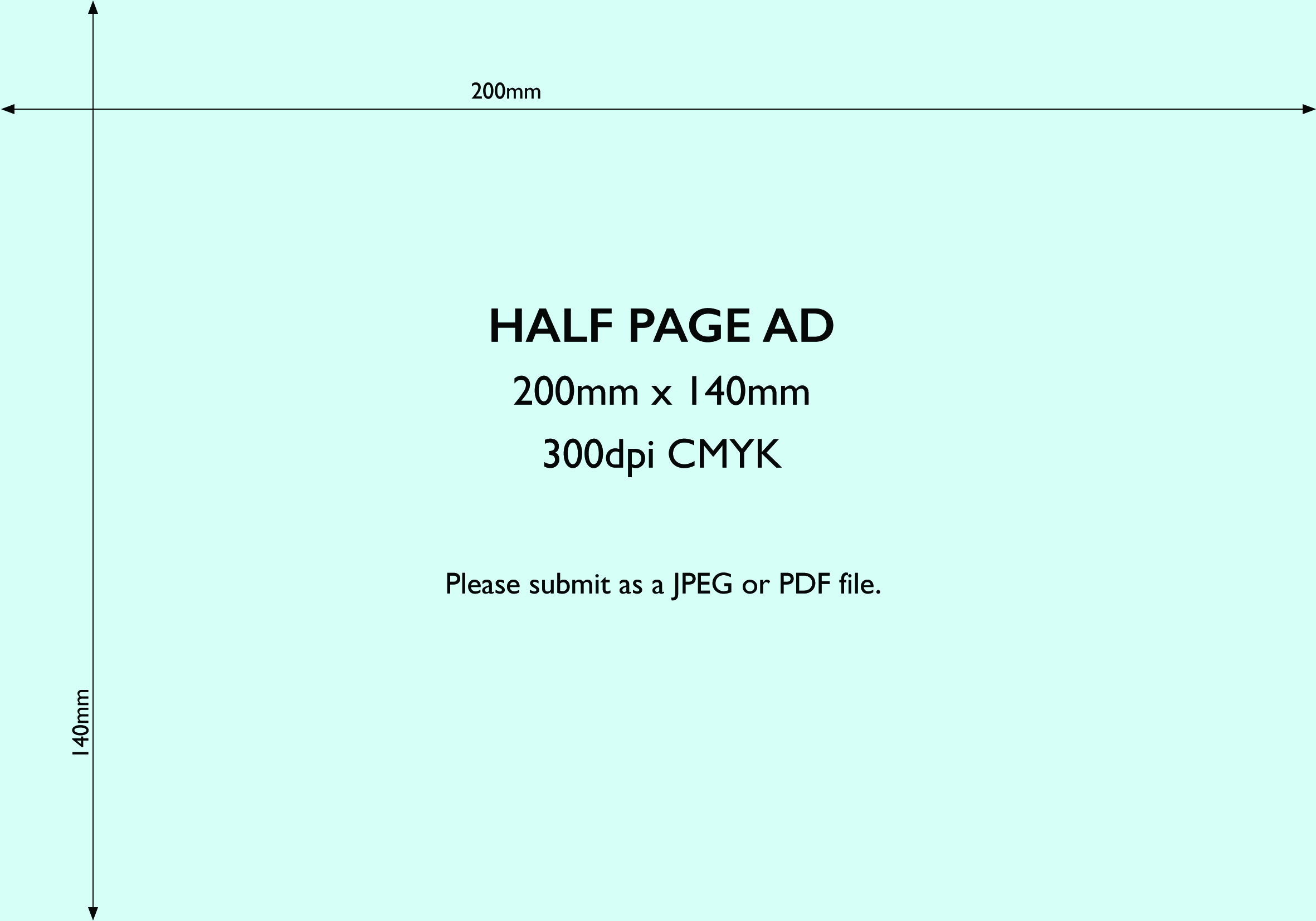 Advertise in the esdc magazine half page ad template wide pronofoot35fo Image collections